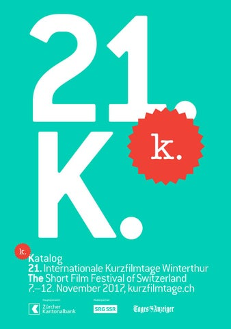 6ab10d11f Katalog – 21. Internationale Kurzfilmtage Winterthur by Int ...