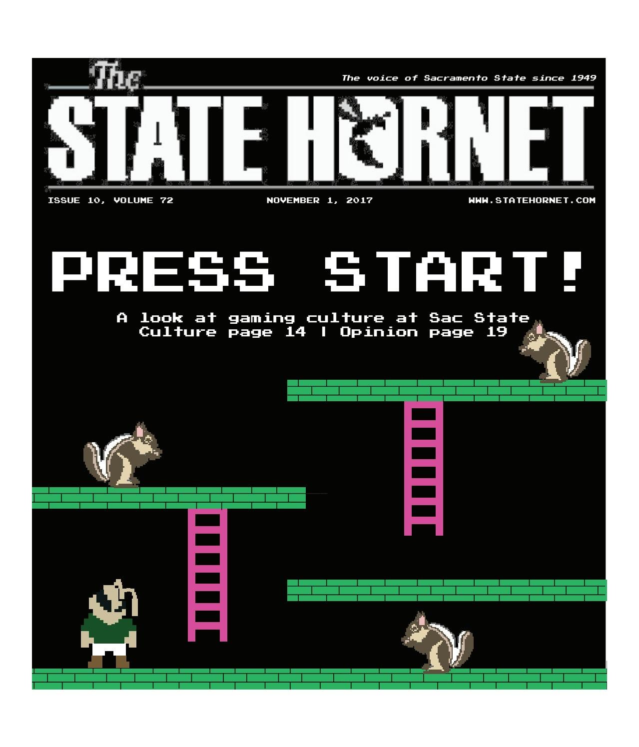 The State Hornet — Issue 10 — Nov  1, 2017 by The State