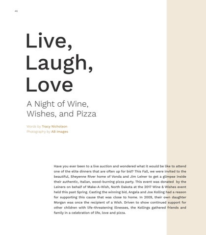 Page 46 of Live, Laugh, Love - A Night of Wine, Wishes, and Pizza