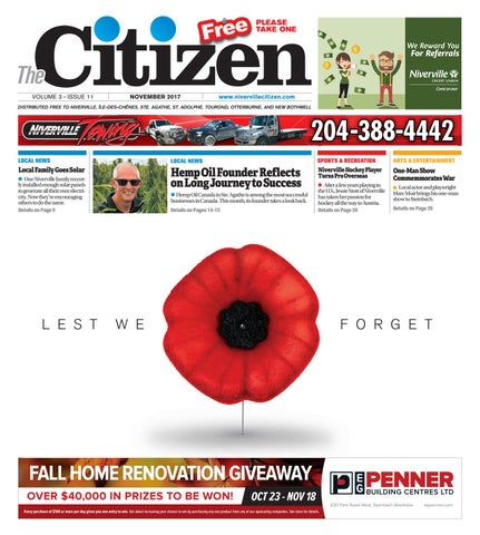 November By Niverville Citizen Issuu - What is a deposit invoice rocco's online store
