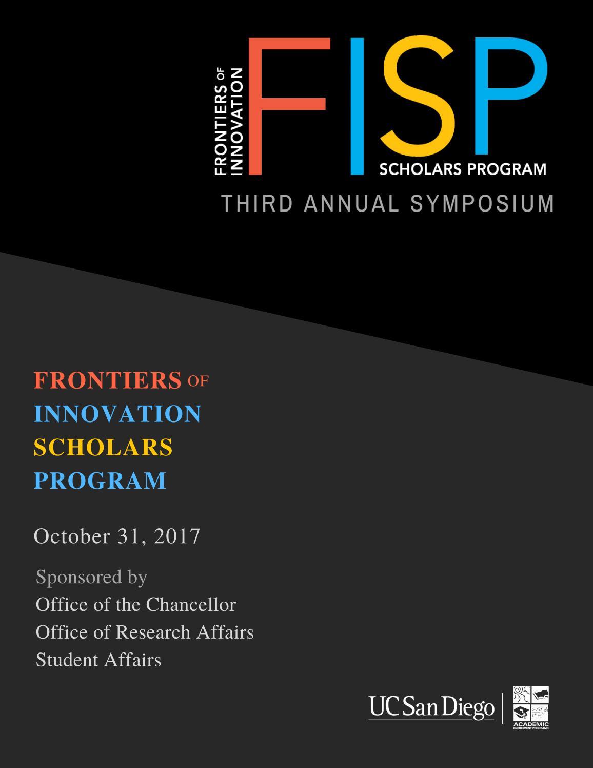 2017 Fisp Symposium Program By Academic Enrichment Programs Uc San Robotics Prometheus Pcb Maker Automates Circuit Board Creation Video Diego Issuu