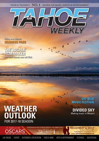 Oct. 26 to Nov. 15, 2017 by Tahoe Weekly - issuu