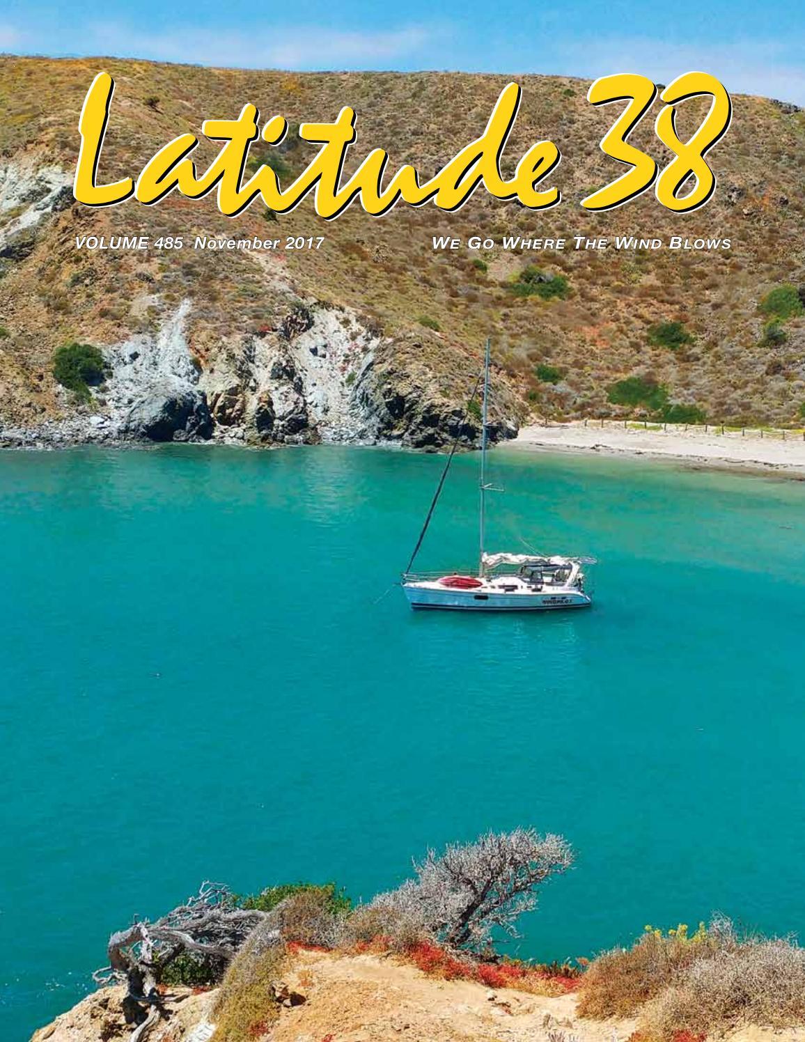 Latitude 38 Nov 2017 By Media Llc Issuu Do It Yourself Wiring Harness Since My 68 Baja Is Really Needing