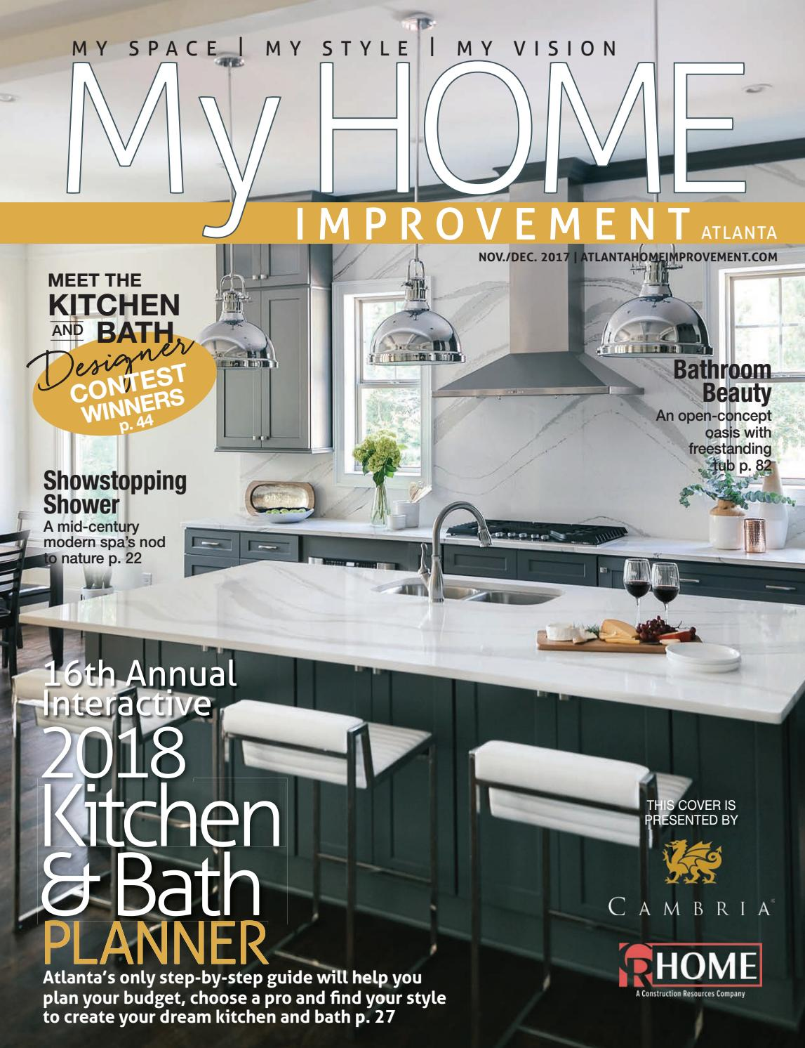 major home remodel atlanta home remodeling cost verses value glazer construction My Home Improvement 1117 1217 by My Home Improvement Magazine - issuu