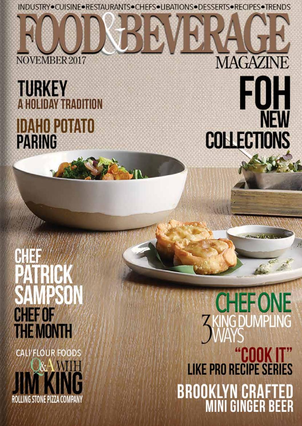 Food & Beverage Magazine November 2017 by Food & Beverage Magazine - issuu