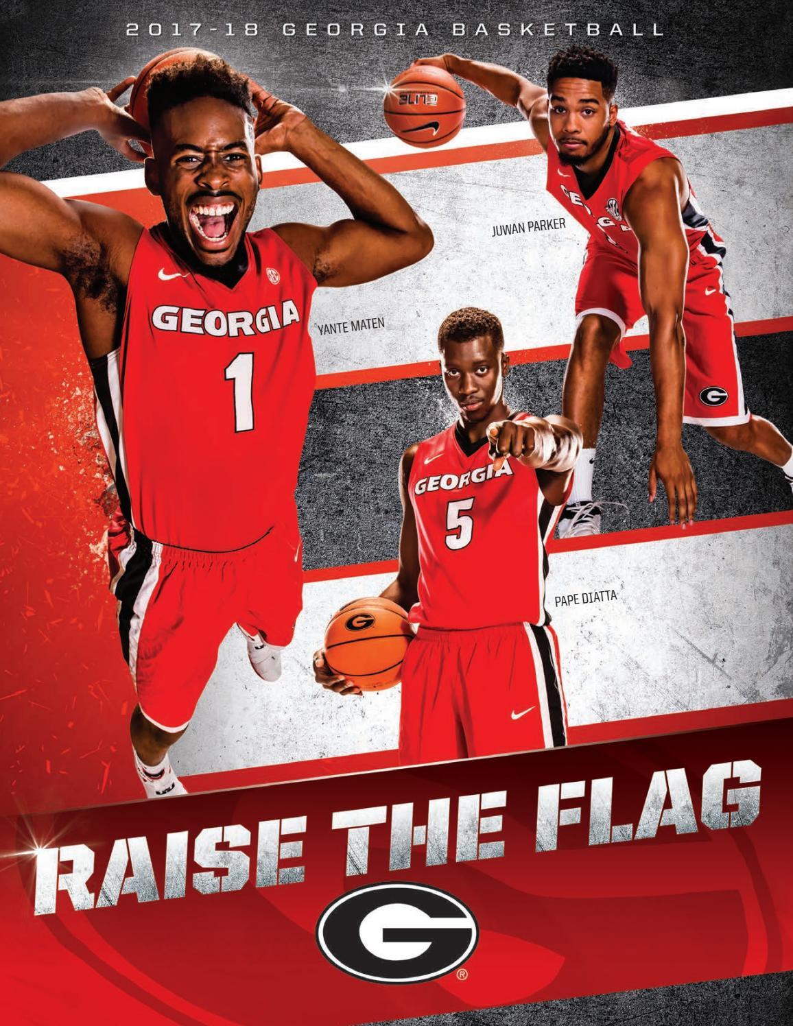 2017-18 Georgia Men s Basketball Media Guide by Georgia Bulldogs Athletics  - issuu 9df4de8b8