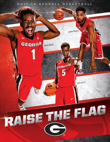 2017-18 Georgia Men's Basketball Media Guide by Georgia