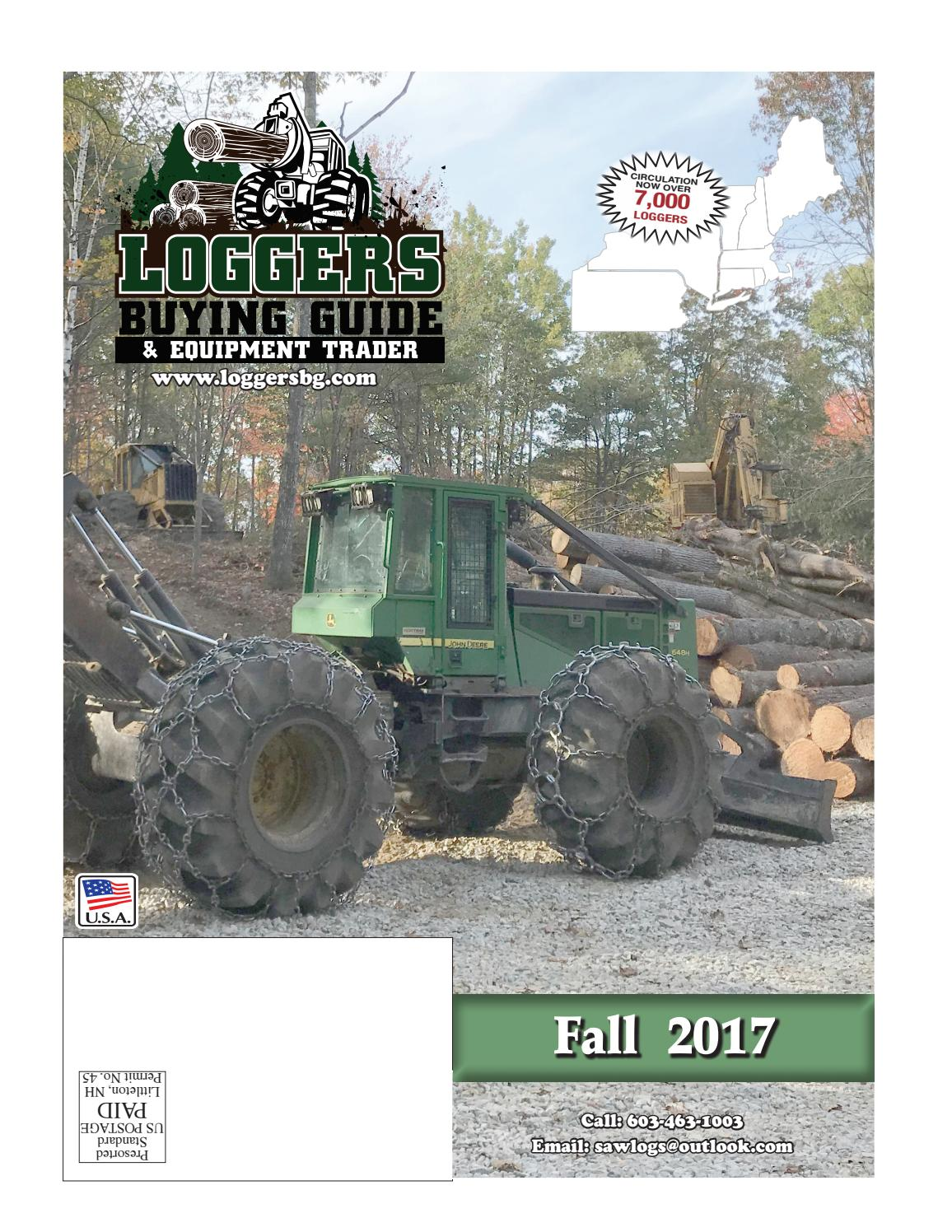 Fall Loggers Buying Guide 2017 by Log Street Publishers, LLC - issuu