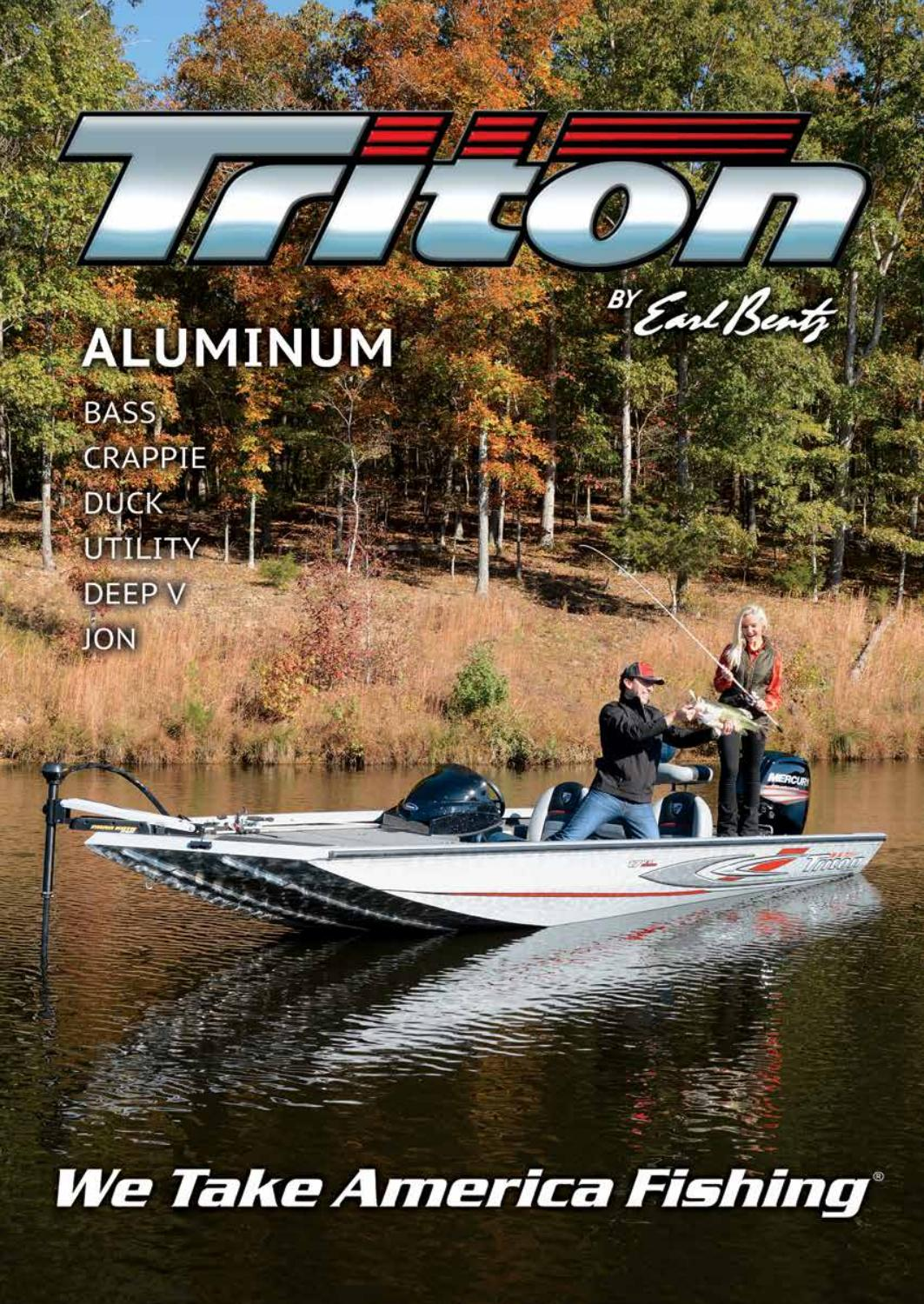 Triton Boats 2017 Aluminum Catalog by Triton Boats - issuu