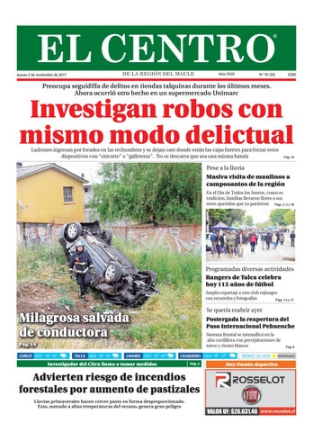 8016d74d275 Diario 02-11-2017 by Diario El Centro S.A - issuu
