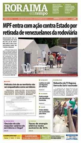 bbc534606 Jornal roraima em tempo – edição 772 by RoraimaEmTempo - issuu
