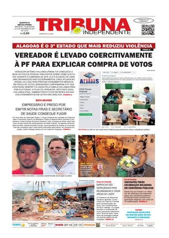 QUINTA E SEXTA-FEIRA MACEIÓ - ALAGOAS 2 E 3 DE NOVEMBRO DE 2017 N0 3.016 a08ef250af