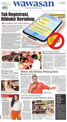 WAWASAN 02 Nopember 2017 by KORAN PAGI WAWASAN - issuu 46138233ac