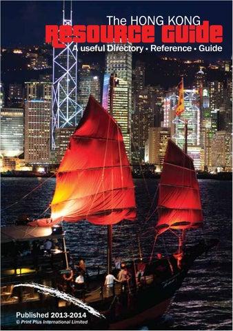 3ead8b9ecd Hong Kong Resource Guide 2013-2014 by Plus Group International ...