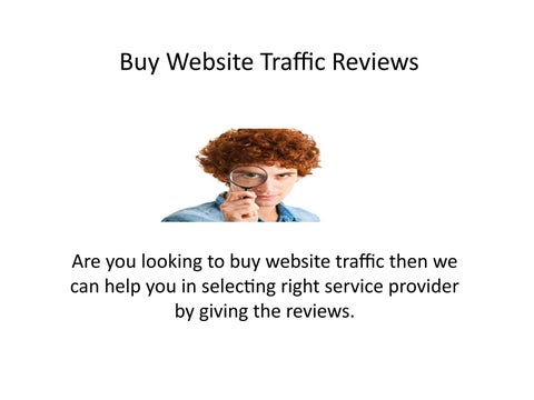 Buy Website Traffic Reviews by kimraver - issuu
