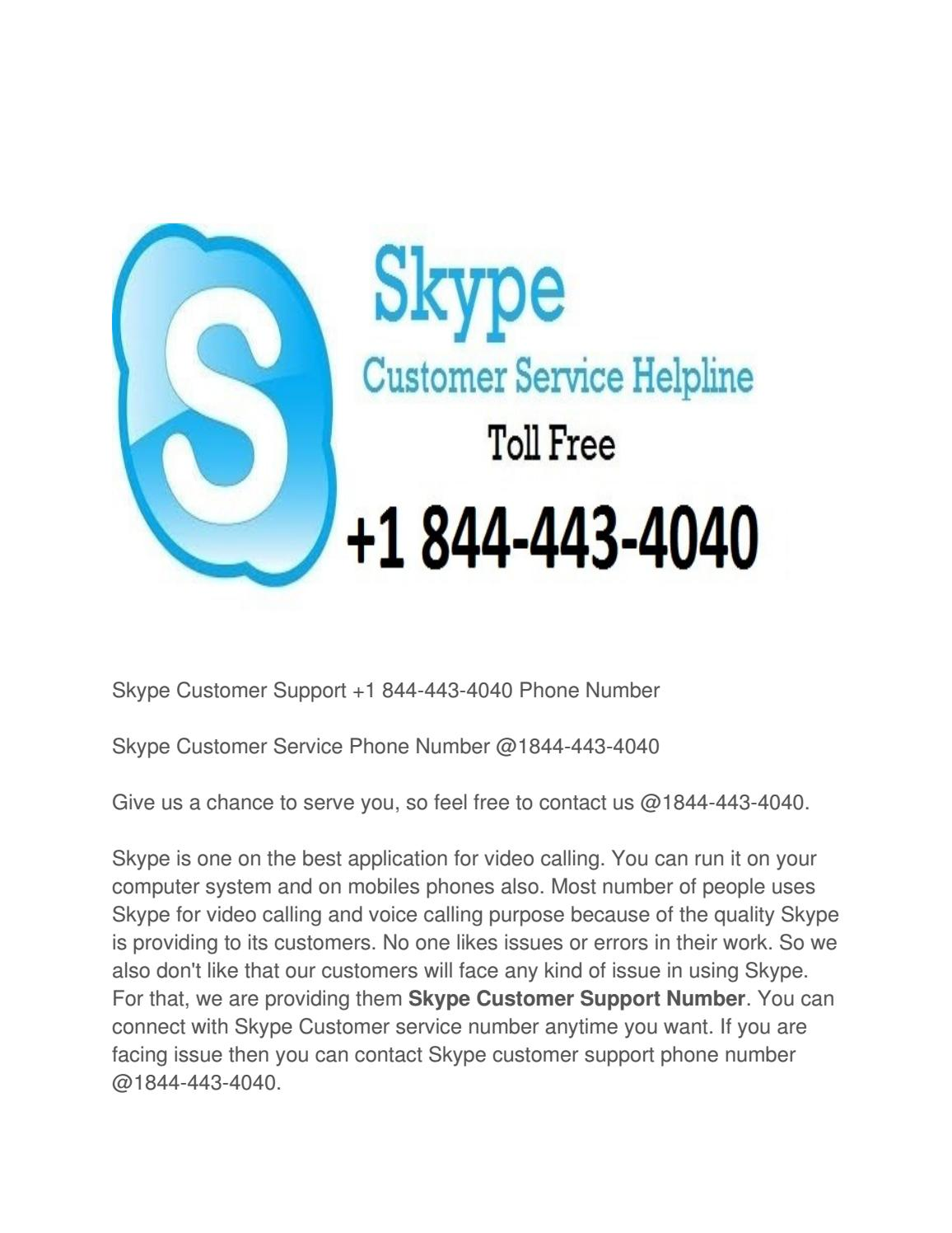 what is skype phone number for customer service