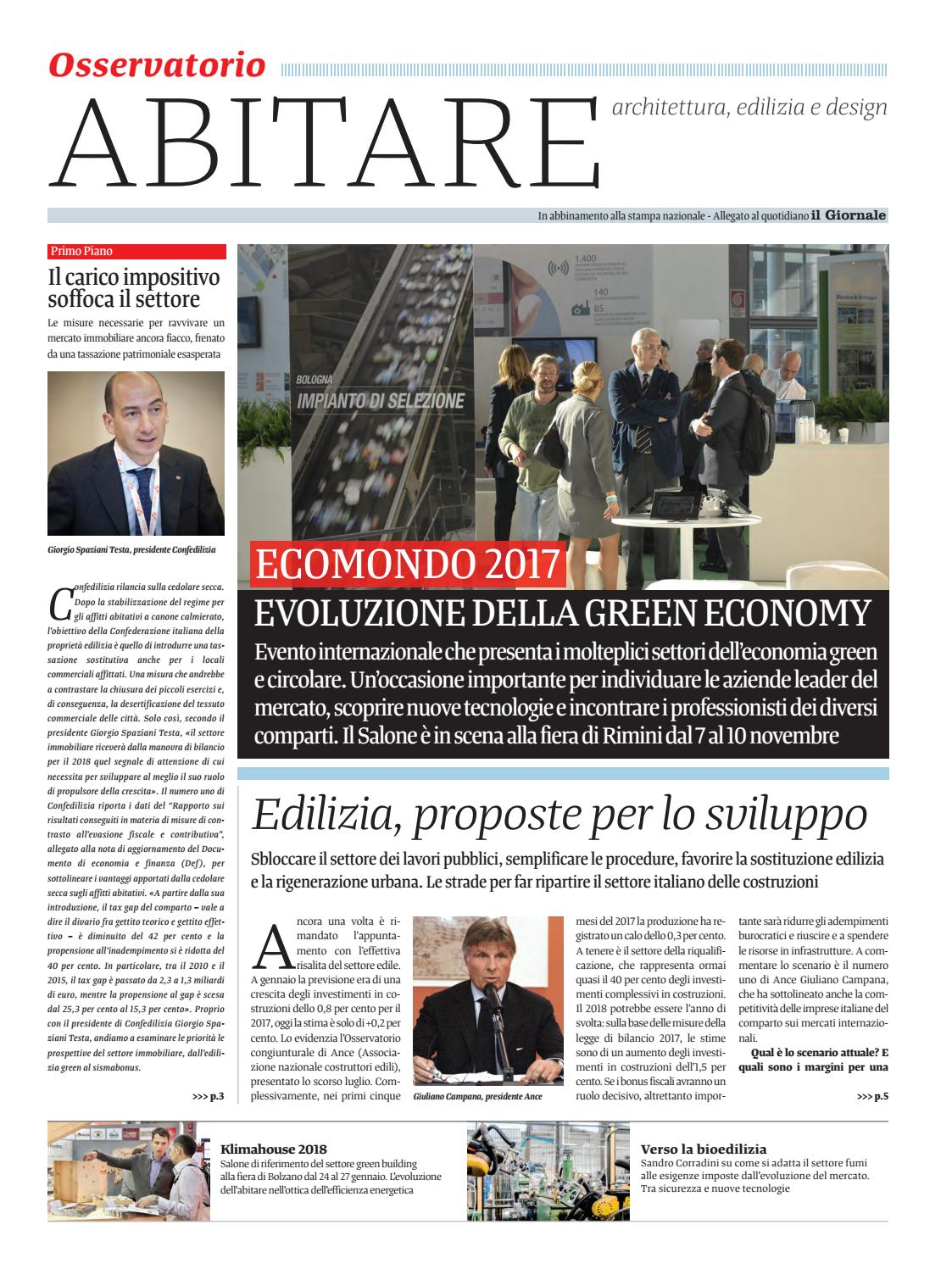 Abitare Ottobre 17 By Golfarelli Editore International Group