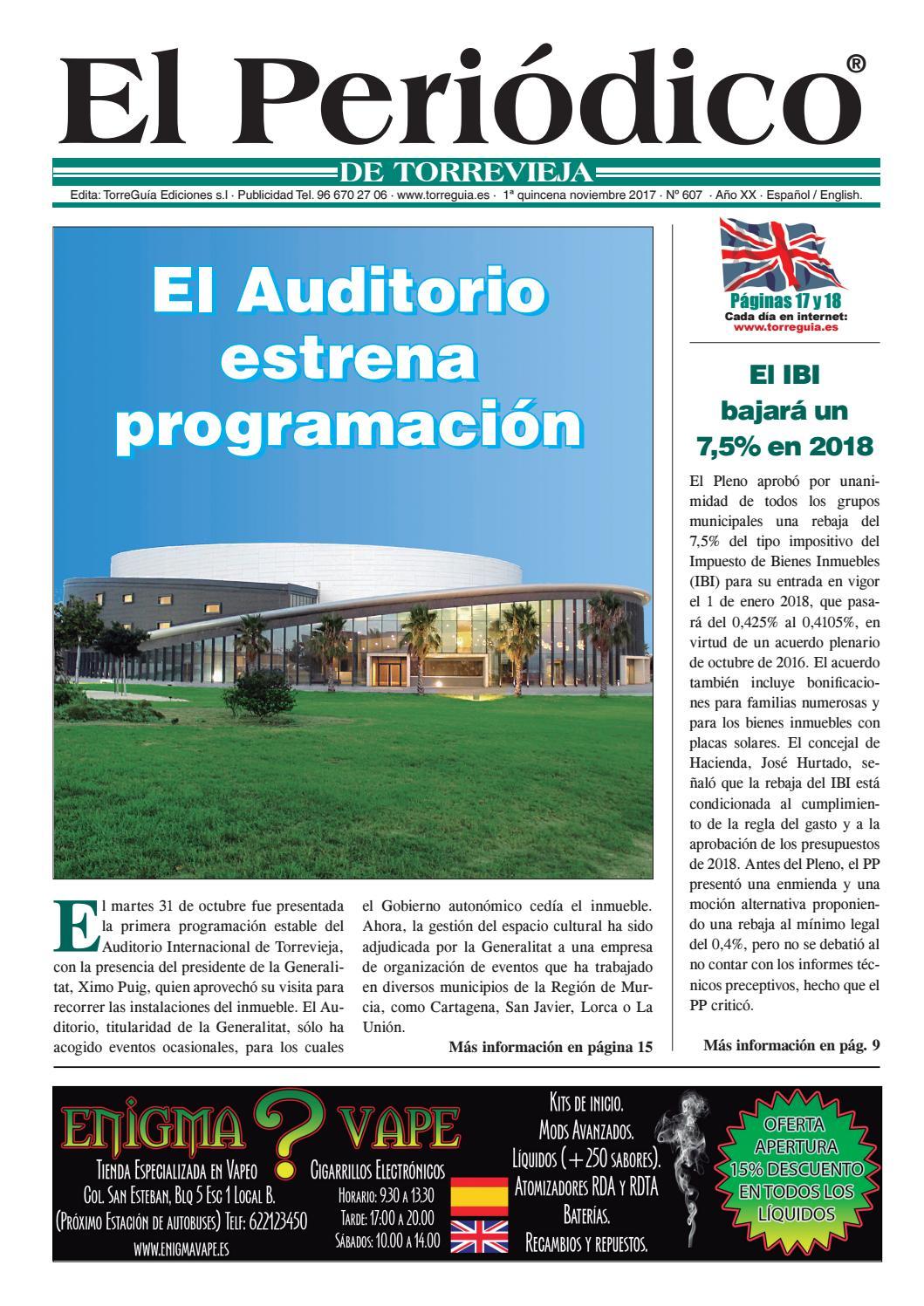 El Periódico de Torrevieja nº607 by Torreguía Ediciones - issuu