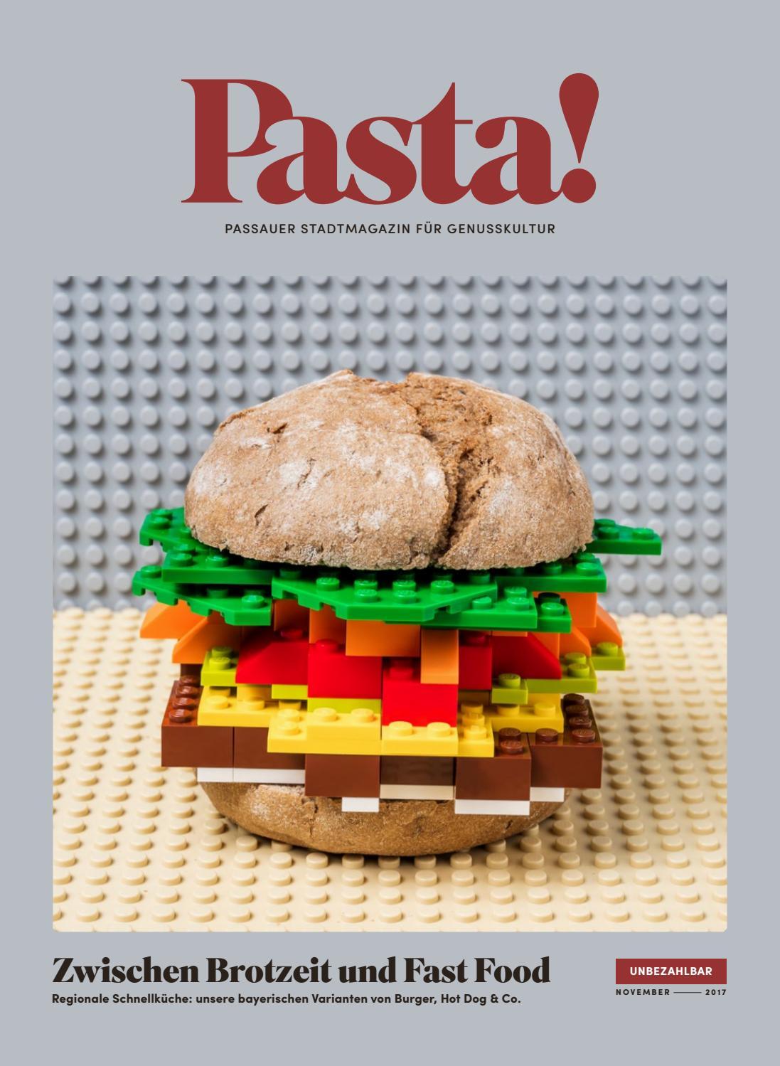 Pasta! November 2017 - Passauer Stadtmagazin für Genusskultur by ...