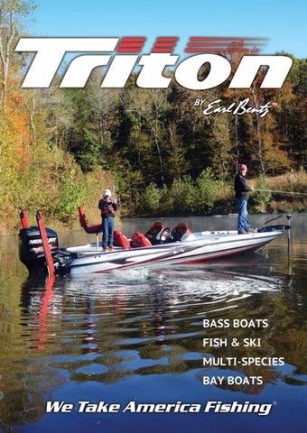 2017 Triton Boats Fiberglass Catalog by Triton Boats - issuu