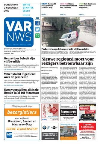 Ronde Tafel Maarssen.Varnws Stichtse Vecht 2 November 2017 By Varnws Issuu