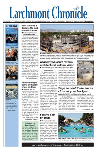 LC 11 2017 By Larchmont Chronicle