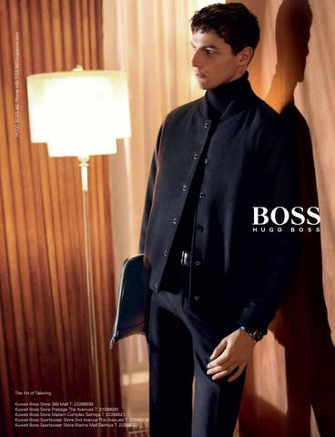 94fc8036e5742 HUGO BOSS AG Phone +49 7123 940 hugoboss.com The Art of Tailoring Kuwait  Boss Store 360 Mall T  22288030 Kuwait Boss Store Prestige The Avenues T   22288020 ...
