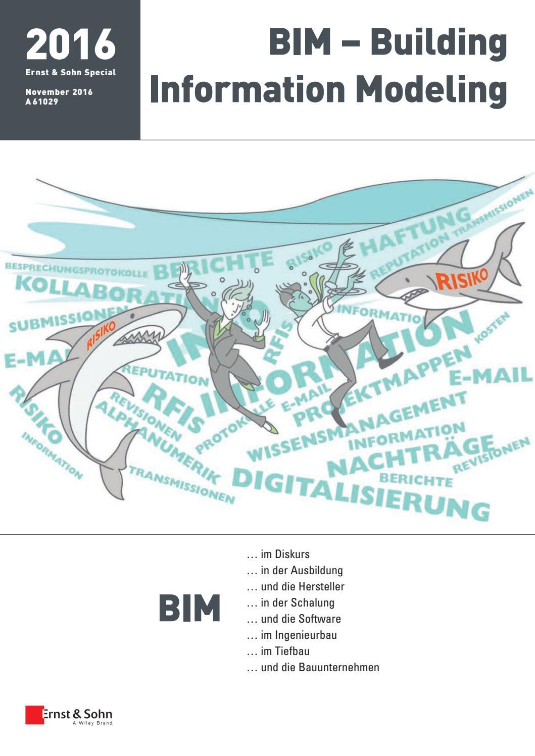 Ernst & Sohn Sonderheft BIM 2016 by Ernst & Sohn - issuu