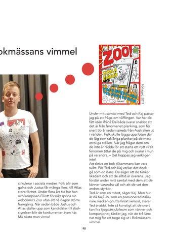Page 101 of Samtal i bokmässans vimmel med Kaj Korkea-aho och Ted Forsström