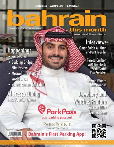 52a02ea16655 Bahrain This Month - November 2017 by Red House Marketing - issuu