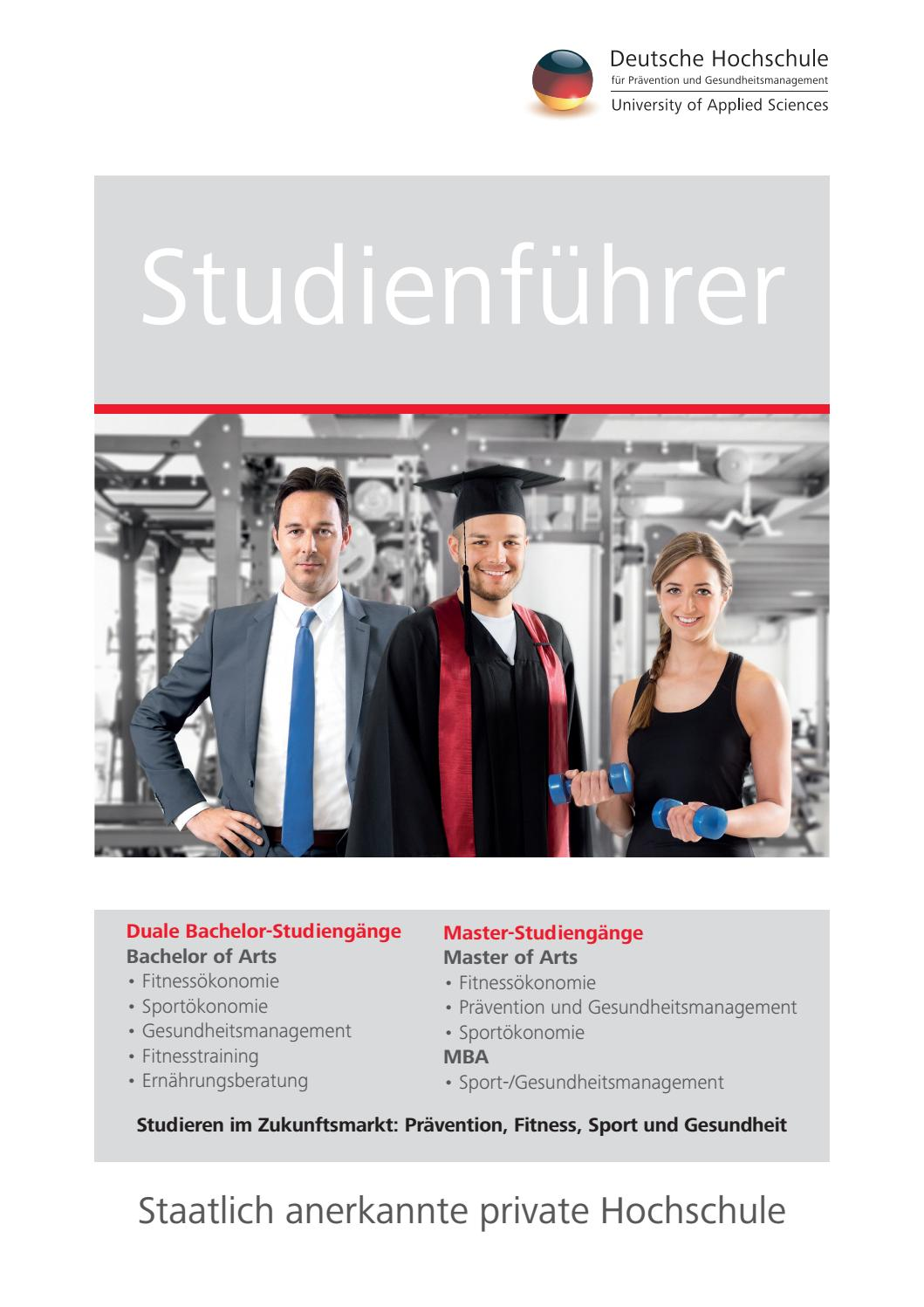 Studienführer der DHfPG by DHfPG / BSA-Akademie - issuu