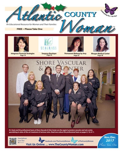 Atlantic County Woman - November/December 2017 by The County