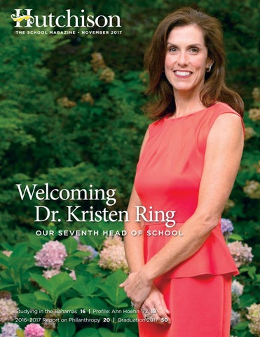 Hutchison Magazine, November 2017 by Hutchison School - issuu