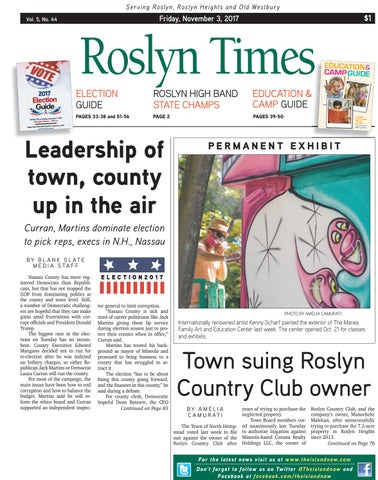 das Neueste größte Auswahl an Fang Roslyn times 11 03 17 by The Island Now - issuu