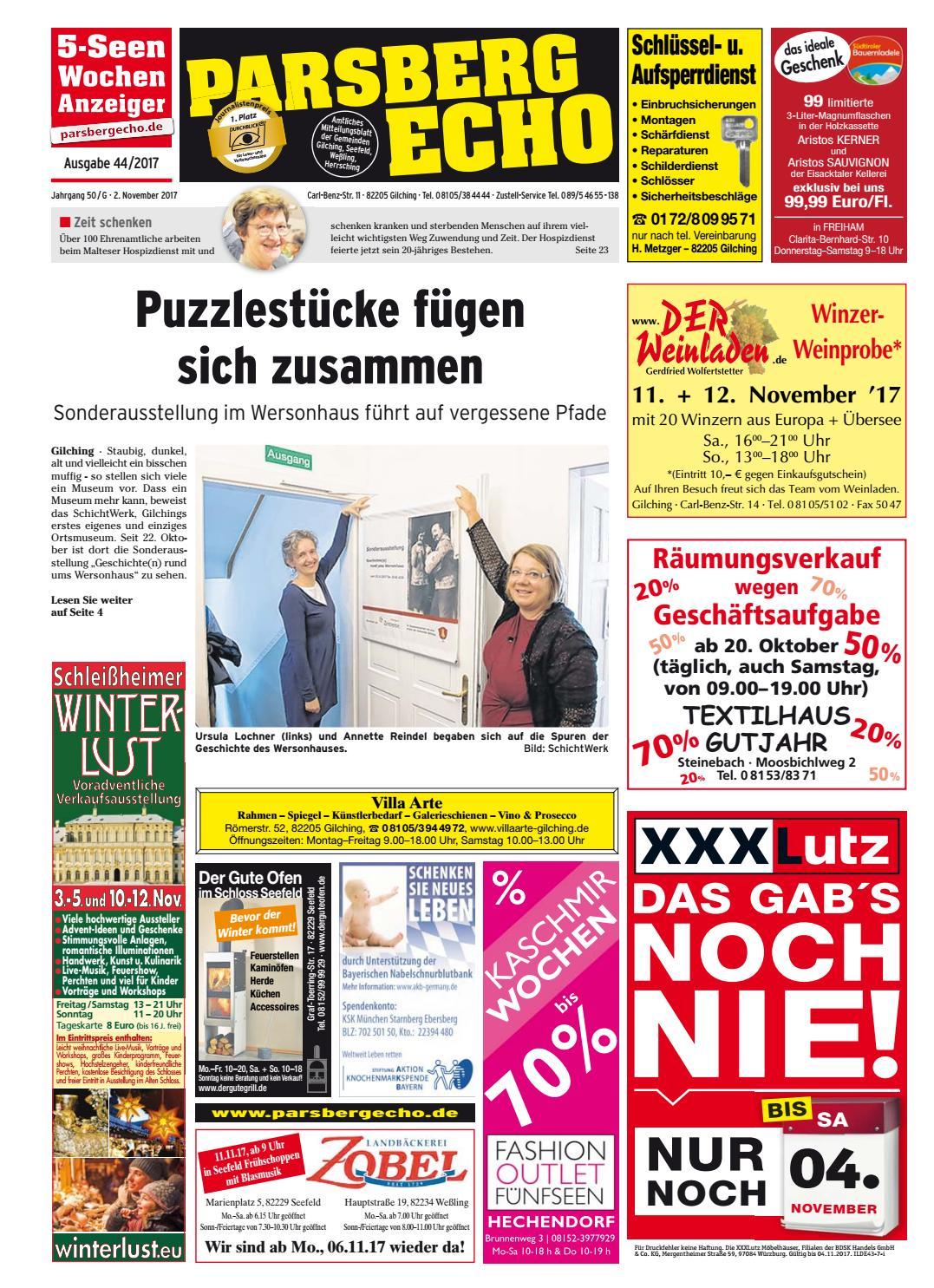 KW 44-2017 by Wochenanzeiger Medien GmbH - issuu