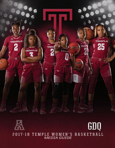 e5d421ae0aec10 2017 Temple Women s Basketball Media Guide by Temple Athletics - issuu