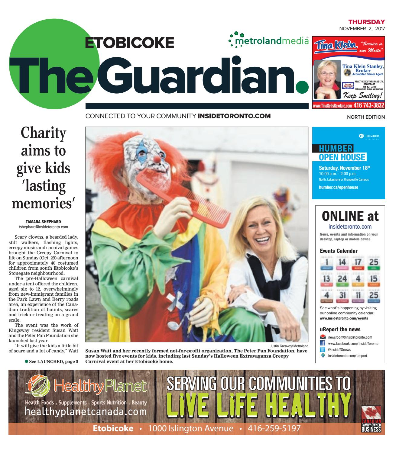 Carnival Ii Memoirs Of An Immigrant: The Etobicoke Guardian, North, November 2, 2017 By The