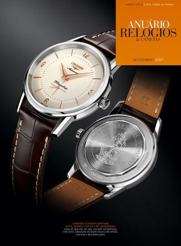 a903d1703a3 Anuário Relógios   Canetas - Novembro 2017 by Anuário Relógios ...