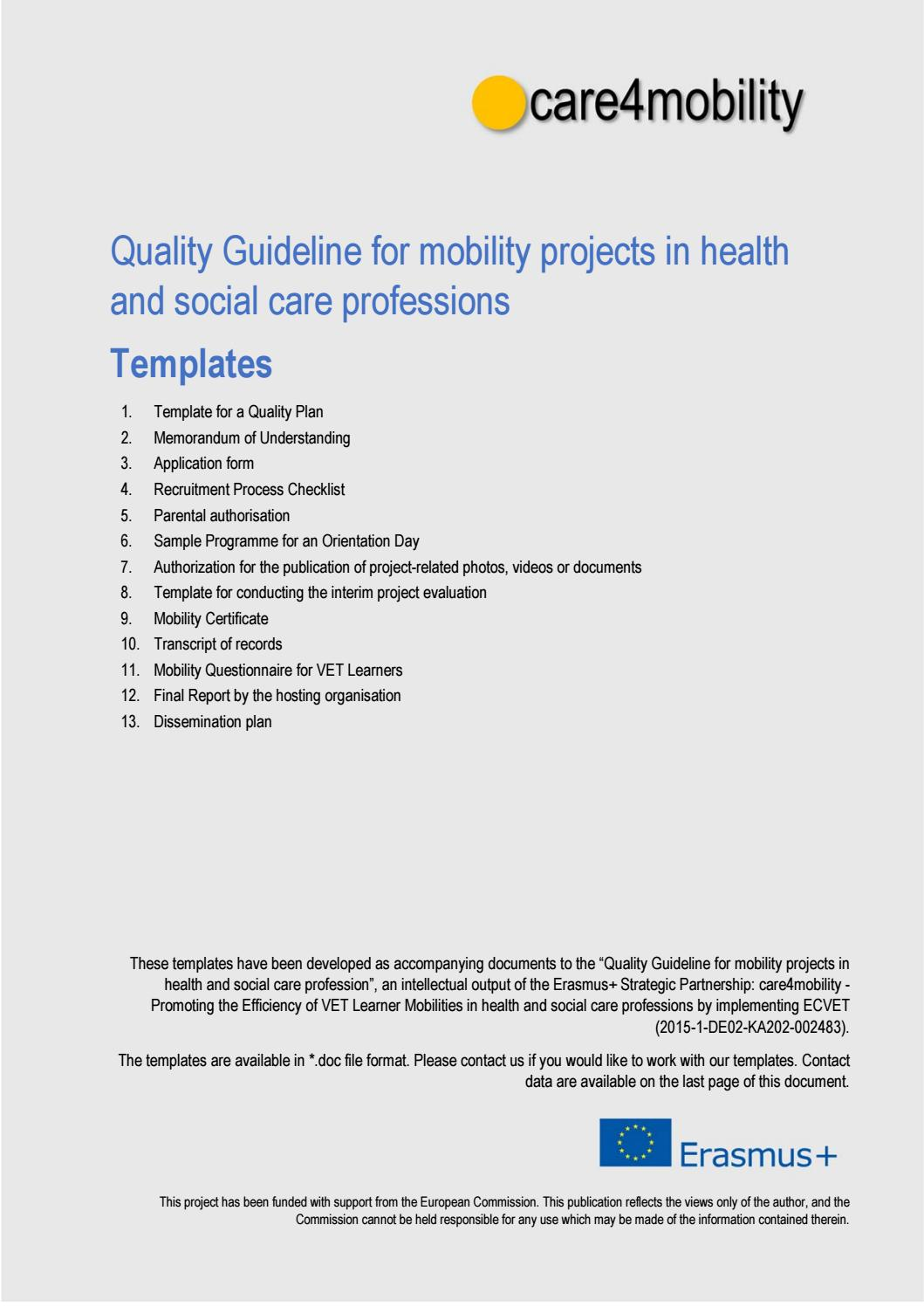 Care4mobility Templates By Care4mobility Issuu