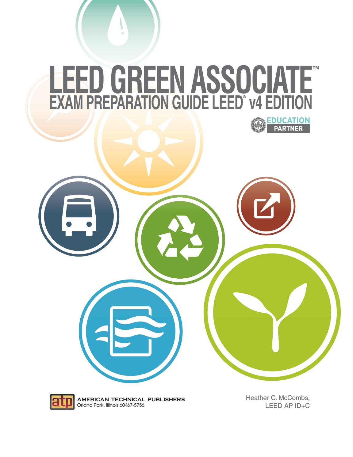 Leed Green Associate Exam Preparation Guide Leed V4 Edition By