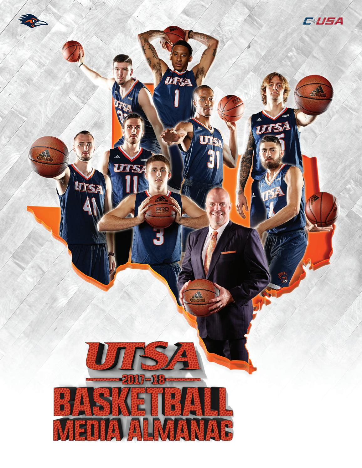d94993c297c 2017-18 UTSA Men s Basketball Almanac by UTSA Athletics Communications -  issuu