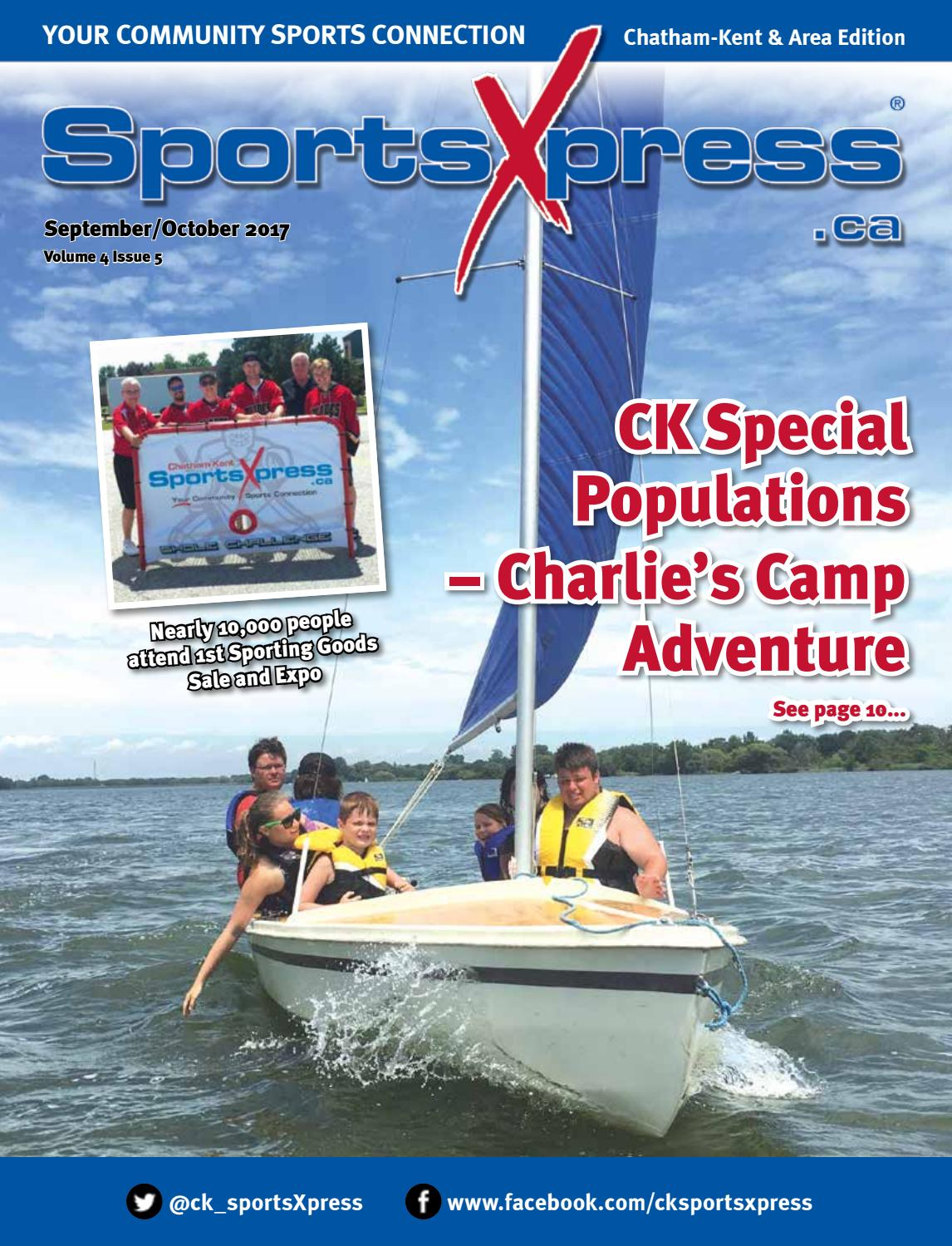 SportsXpress Chatham/Kent Sept/Oct 2017 by SportsXpress - issuu