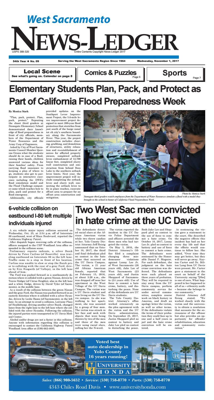 West Sacramento News-Ledger • November 1, ...