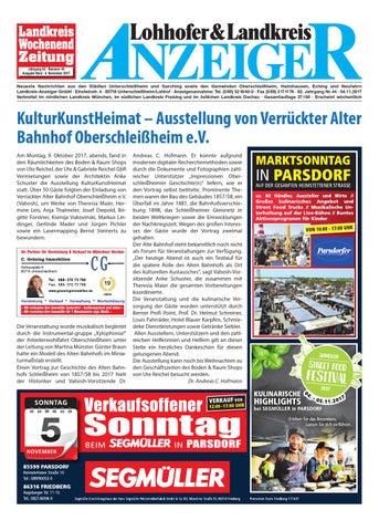 Lohhofer landkreis anzeiger online dating