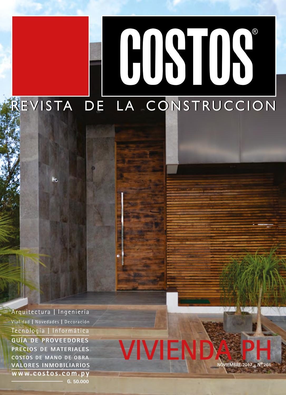 Costos 266 Noviembre/2017 by Revista Costos (Paraguay) - issuu