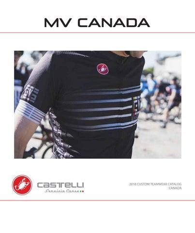 bf72cfe9 2018 canada castelli custom teamwear catalog by MV CANADA - issuu