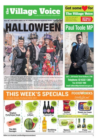 Lithgow Local Community Newspaper - Issue #185 by Village