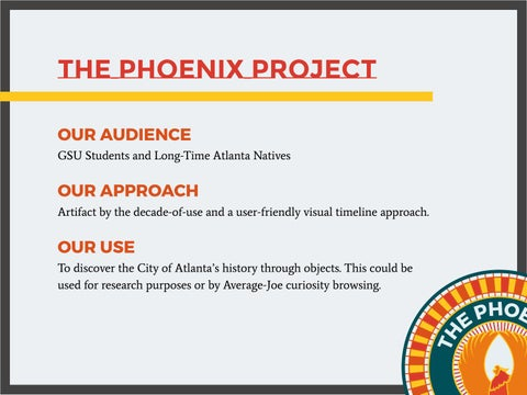 Phoenix Project PPT & Style Guide Analysis by Sara Norman