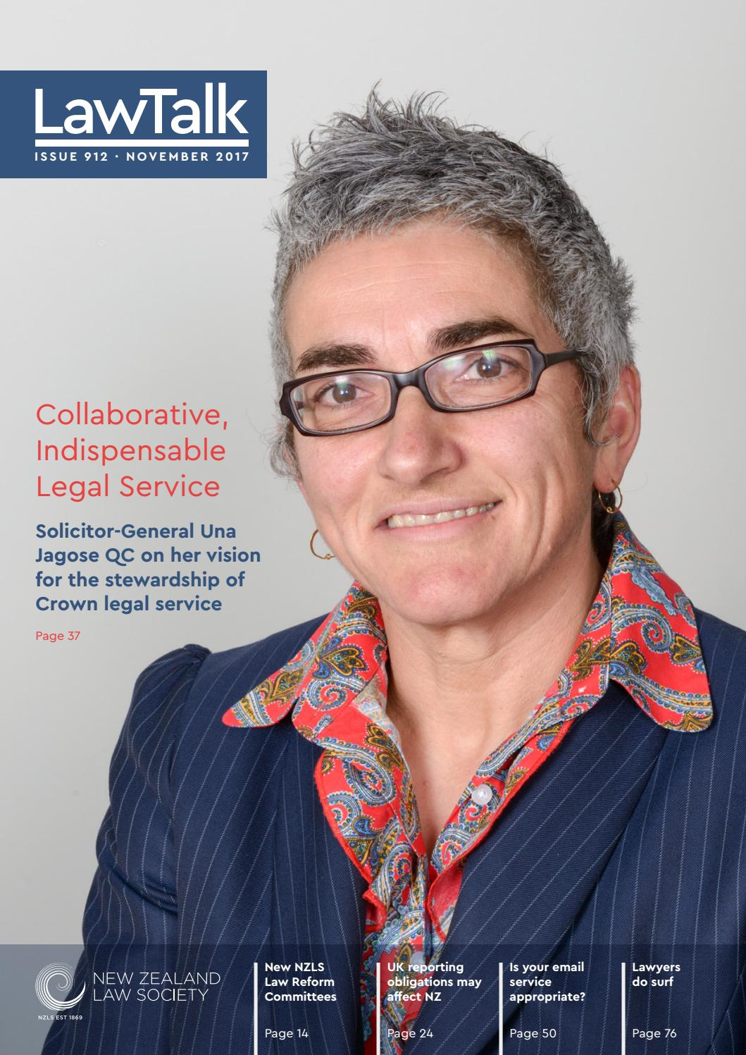 Lawtalk 912 By Nz Law Society Issuu