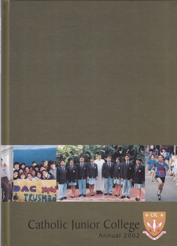 CJC Yearbook 2002 by Catholic JC - issuu